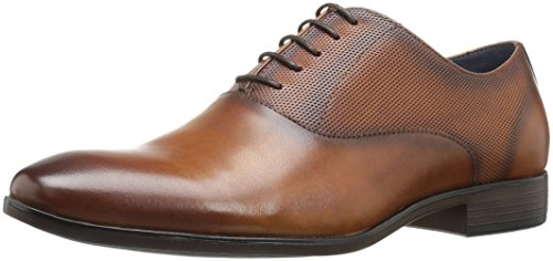 Steve Madden Men's Esos Oxford, Tan Leather, 10.5 M US