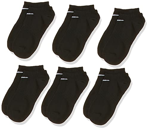 Nike U NK EVERYDAY LTWT NS 6PR-BAND Chaussettes black/white FR : L (Taille Fabricant : L)