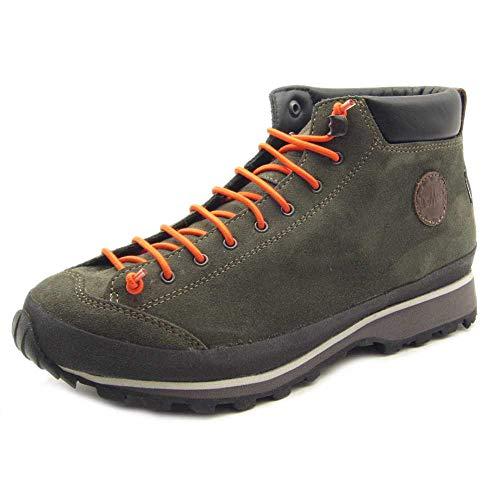 Lomer Damen-Stiefel BIO Natur Mid MTX Jeans, - grün - Größe: 36 EU