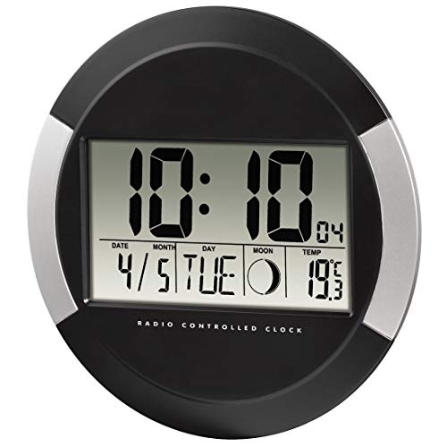 Hama pp-245 - Reloj de pared digital,...