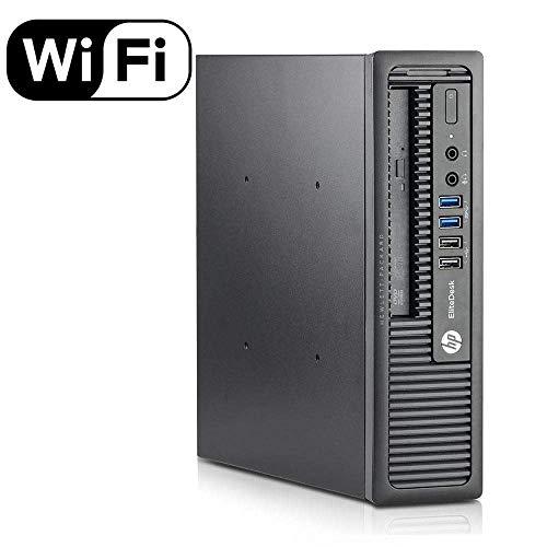 HP Elitedesk 800 G1 USFF, Intel i7-4770s up to 3.9 GHz, 16GB RAM, 240GB SSD, DVD, Windows 10 Professional 64 Bit (Renewed)
