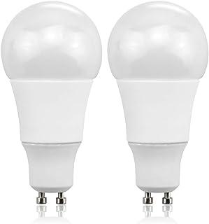 Bonlux 9W GU10 Globo A50 Bombilla LED con Blanco Frío 6000K, 750LM, Equivalente a 75W Lámpara Incandescente (2-Unidades)