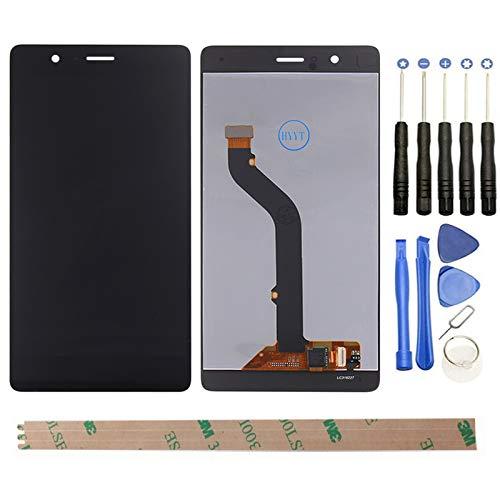 HYYT - Pantalla LCD de repuesto + digitalizador táctil para Huawei P9 lite con herramientas
