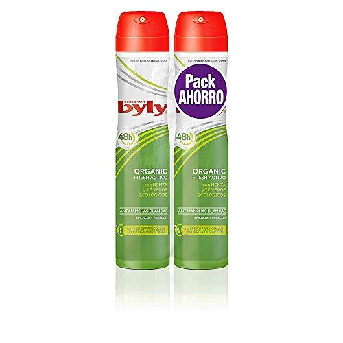 Byly Organic Extra Fresh Desodorante Spray - 2 Unidades
