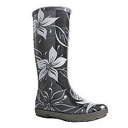 demar. Gummistiefel Regenstiefel Hawai Lady Exclusive (39, Blumen)
