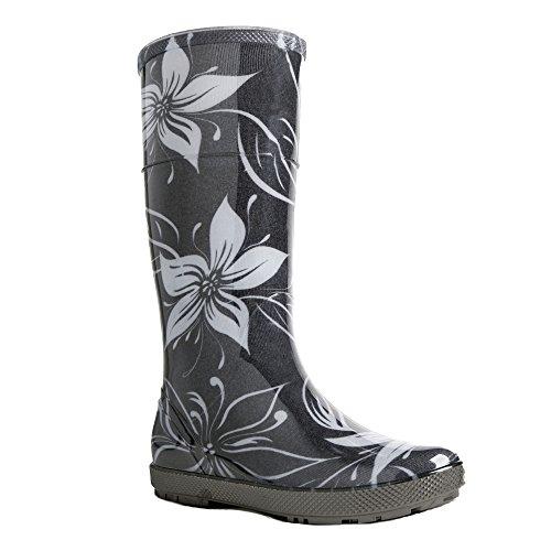 demar. Gummistiefel Regenstiefel Hawai Lady Exclusive (41, Blumen)