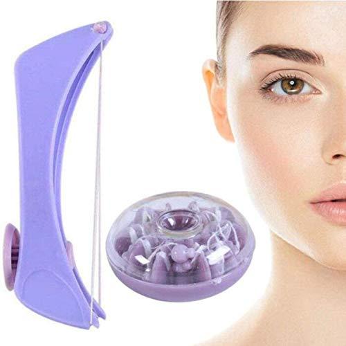 BLOUR Depiladora de Rosca Facial, Depiladora Facial Manual, Solía arrancarse La Cara, Cuerpo, Labio Superior, Cuerpo para Eliminar El Exceso de Vello Facial