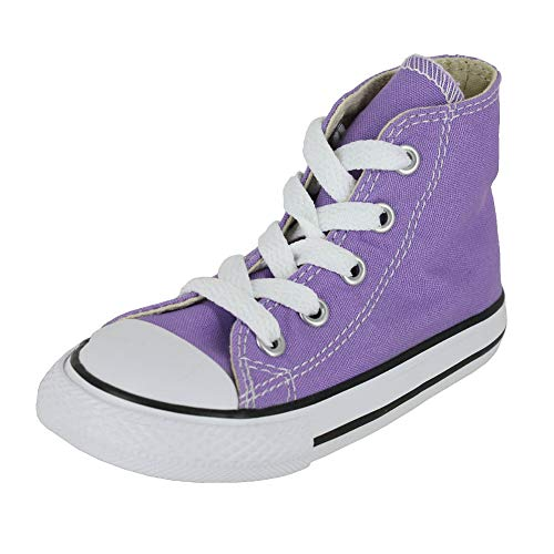 Converse Toddler All Star HI Infant Frozen Lilac Size 10