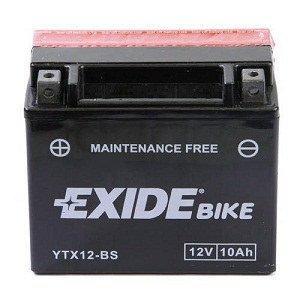 Exide//Fulmen YTX9-BS Batterie de moto avec Acide