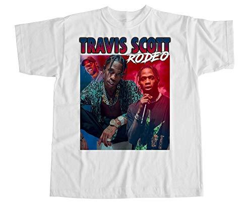 Travis Scott T Shirt Homage XXX Rodeo Kylie Hip Hop Tribute Vintage Jenner
