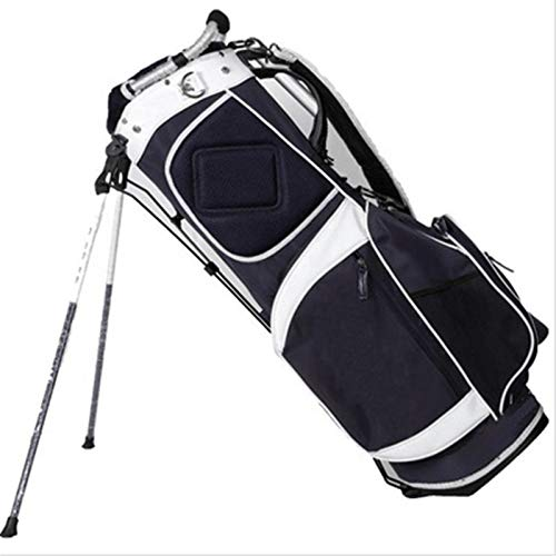 XuZeLii Bolsa De Golf Soportes de Golf Muestras Personalizadas Bolsas de Clubes Apto para Campos De Golf (Color : Black, Size : 9 Inches)