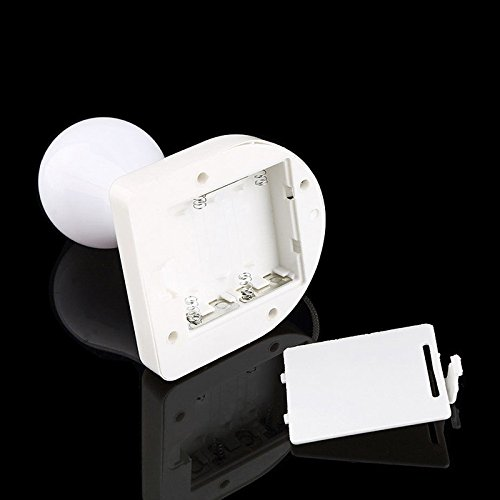Zantec Moderne Stick Up LED Light Armoire Lampe Ampoule Auto-adhésif à Piles Veilleuse Murale