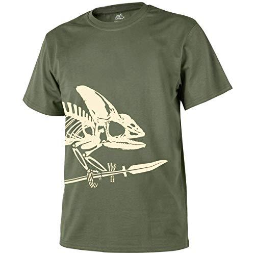 Helikon-Tex T-Shirt (Full Body Skeleton) -Cotton- Olive Green