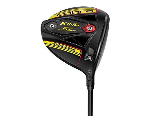 Product Image 1: Cobra Golf 2020 Speedzone Driver Black-Yellow (Men's, Right Hand, MCA Tensei AV Blue 65, Reg Flex, 10.5)