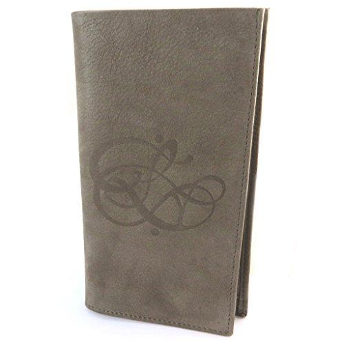 Les Trésors De Lily Les Trésors De Lily [N8917] - Halter prickelnde Leder scheckbuch 'Les Trésors De Lily' Maulwurf - 19x11 cm.
