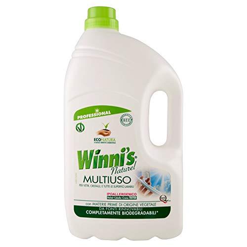 Winni's Naturel Detergente Multiuso - Confezione da 2 x 5 litri
