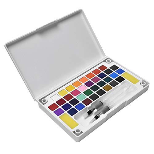 Kit de pigmento portátil para pintar al aire libre para niños, suministro de arte, pigmento concentrado para amantes del arte(36 colors)