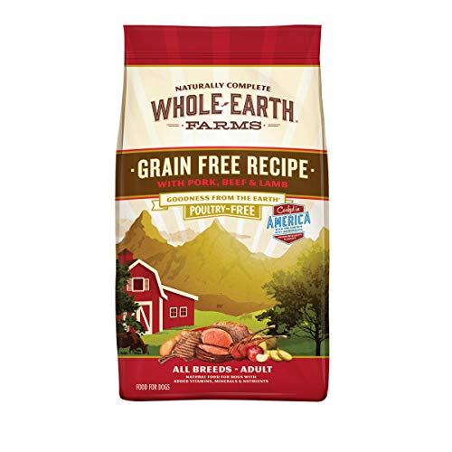 Whole Natural Earth Grain-Free Dry Dog Food