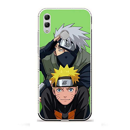 YAOYAN Soft Clear Case Anti-Yellowing Silicone Shockproof Coque for Huawei P Smart 2019/Honor 10 Lite-Naruto-Kakashi Anime 9