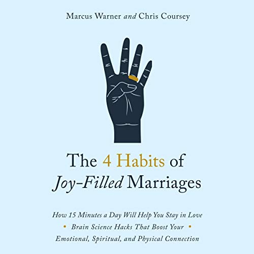 The 4 Habits of Joy Filled Marriages cover art