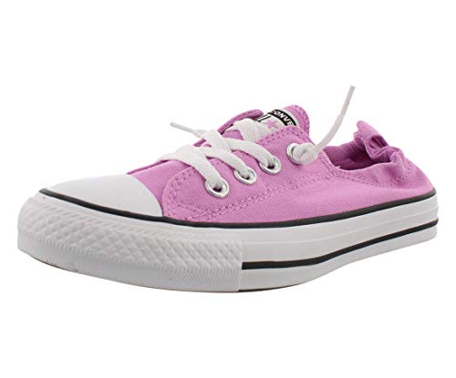 Converse - Womens Chuck Taylor All Star Shoreline Slip-On Shoes, Size: 9 B(M) US Womens, Color: Peony Pink/Multi/White
