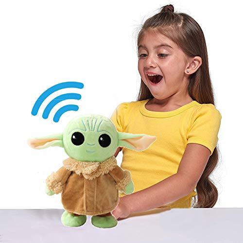 FLYSBA Baby Yoda Plush Talking Walking Toy Doll - I say What...