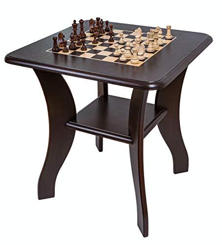 Square - Tabla de ajedrez - 919 W - Tablero de ajedrez - Wenge