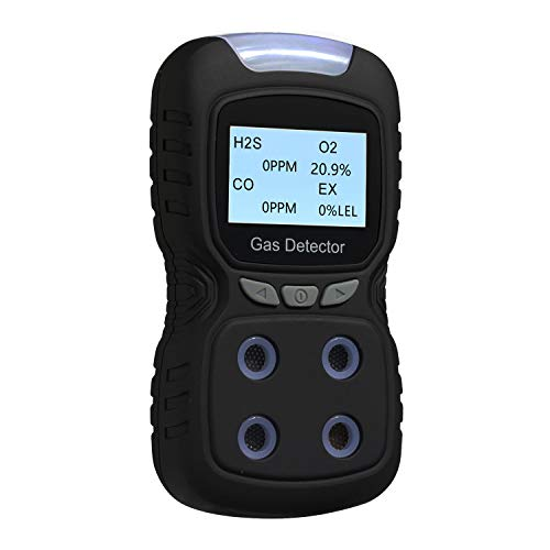 Vzmcov Rechargeable Portable Gas Detector