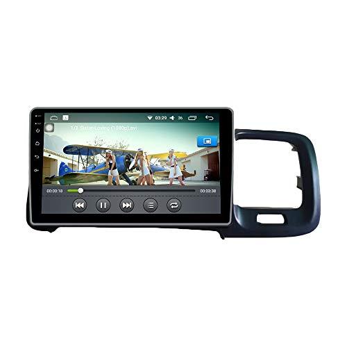 Android 10 Autorradio Navegación del Coche Unidad Principal Estéreo Reproductor Multimedia GPS Radio IPS 2.5D Pantalla táctil porVOLVO S60 S60L 2011-2014