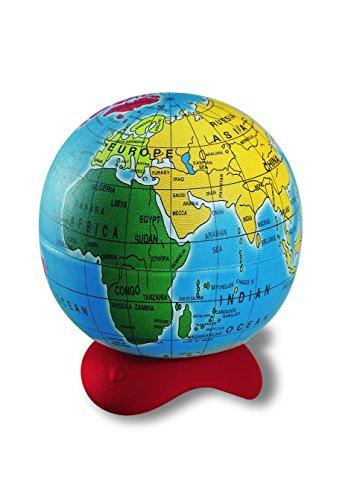 Maped - Juego de sacapuntas de 1 orificio en caja expositora, diseño de globo terráqueo, 1 unidad