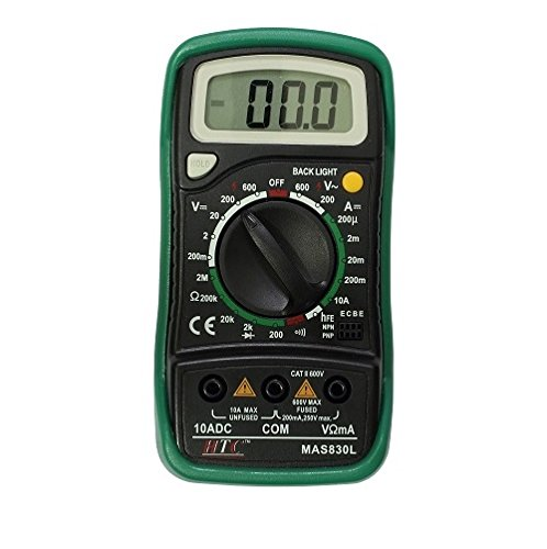 HTC Instrument Mas 830L Digital Pocket Multimeter Dmm