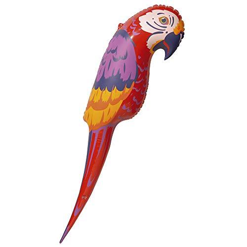 Widmann 2391p gonflable perroquet Déco Jeu
