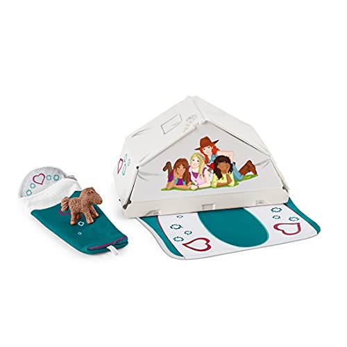 SCHLEICH 42537 Accessory - Accessoires Camping (Horse Club), Mix
