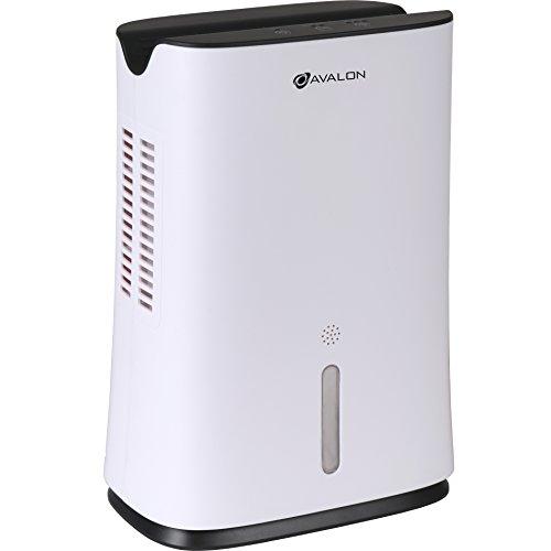 Avalon Mini Dehumidifier with Thermo-Electric Peltier Module Technology, White