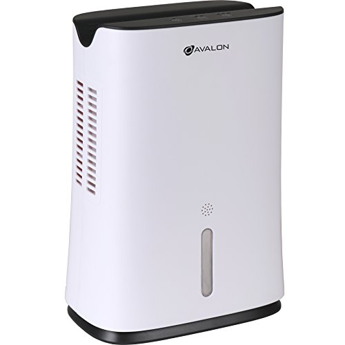 Avalon Mini Dehumidifier with Thermo-Electric Peltier Module Technology, White