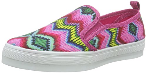 Desigual SHOES_LONA 2, Mädchen Espadrilles, Pink (3022 FUCHSIA ROSE), 35 EU (3 Kinder UK)