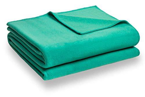 Zoeppritz Soft-Fleece Decke 110x150 Turquoise