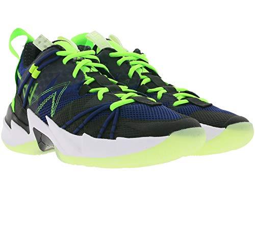 Nike Jordan Why Not Zero 3 SE Sneaker top moda uomo basket Scarpe da allenamento It-Piece Nero/Blu/Verde, Nero (Nero ), 44.5 EU