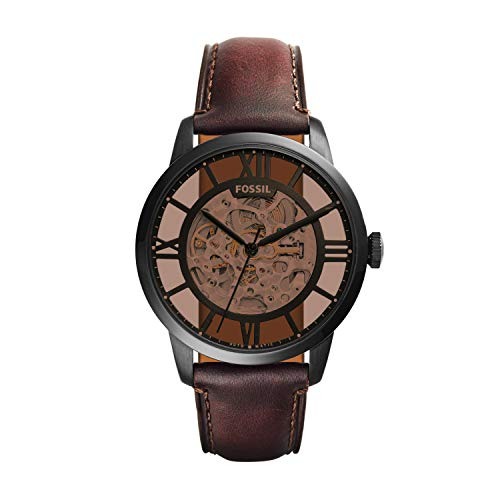 Fossil Men's ME3098 Analog Display Automatic Self Wind Brown Watch