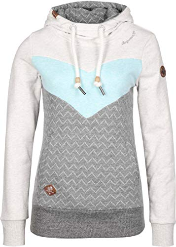 Ragwear TREGA Damen Sweatshirt Aqua Größe L