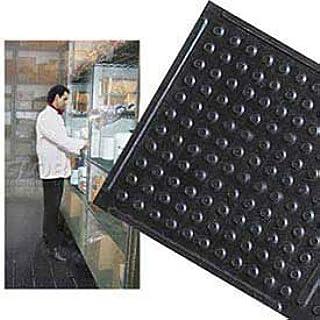 "NoTrax Deep Freeze Rubber Anti-Fatigue Mat, 3' X 60' x 3/8"", Black"
