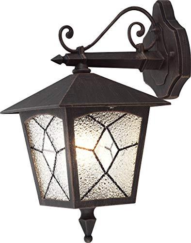 Klassische Wand Leuchte Laterne Hänge Lampe Außen Beleuchtung Strahler IP44 Globo 3125