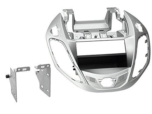 2-DIN radiopaneel met vak Ford B-Max 11/2012 > nestor zilver