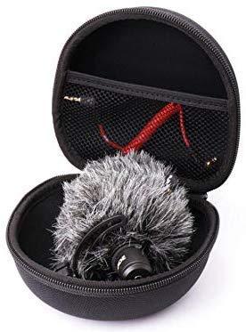 Taoric Case Opbergtas Draagbare Beschermende Box Opbergdoos Kleine Microfoon Beschermende Doos voor Rode/Videomicro/Sony Microfoon