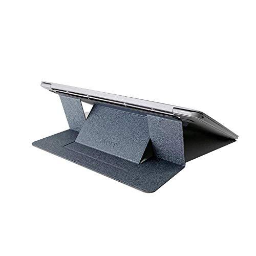 Design leestafel fauteuil en slaapbank,dunne draagbare laptopstandaard,eenvoudig te installeren en te verwijderen,multifunctionele standaard grijs B,multifunctionele laptopstandaard