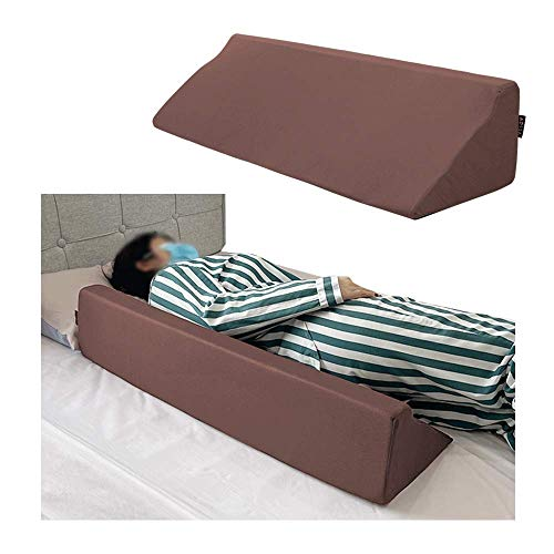 """Bed Rail Foam Wedge Bed Side Rails Guard Bed Rails for Elderly Adults Bed Assist Rail Bed Railing for Seniors Safety Bedrails Cane Hospital Medical Bumpers Bolsters Cushion Pillow 7"""" X 11.2"""" X 34"""""""