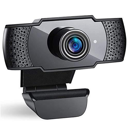 doosl Webcam 1080P Full HD, Webcam per Laptop, Computer con Clip Regolabile per Videochiamate, Studi, Registrazione e Giochi
