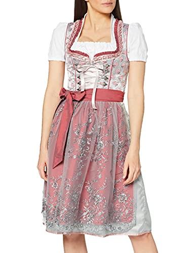 Stockerpoint Damen Londa Dirndl, Mehrfarbig (Beere Beere), (Herstellergröße: 44)