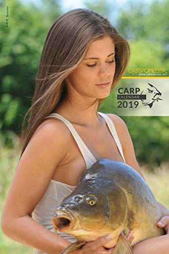 Carponizer carp fishing wall calendar 2019