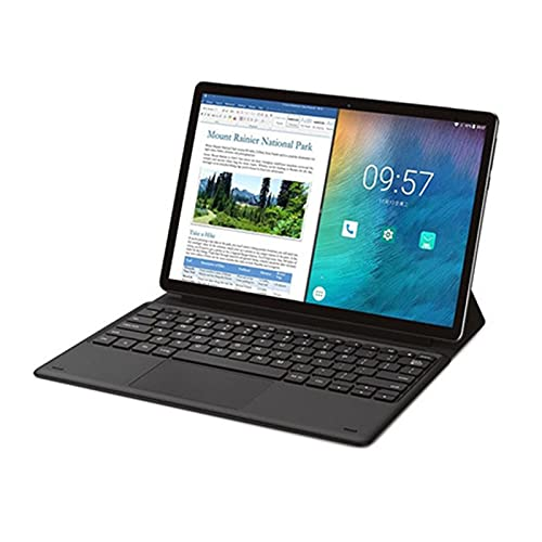 YCHCDR 11.6 Pulgadas Android 8.1 Tablet 4G + 128G + Gamepad + Auriculares inalámbricos Bluetooth Diez Core Reconocimiento Facial 1920 * 1080p